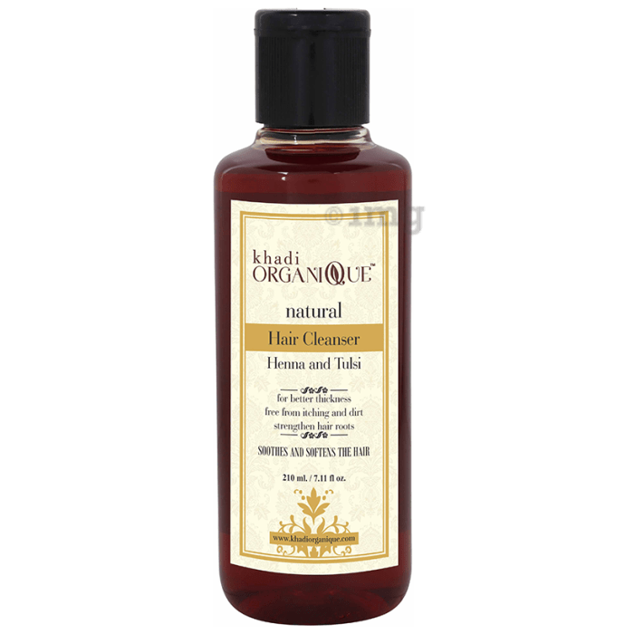 Khadi Organique Natural Shampoo Henna and Tulsi