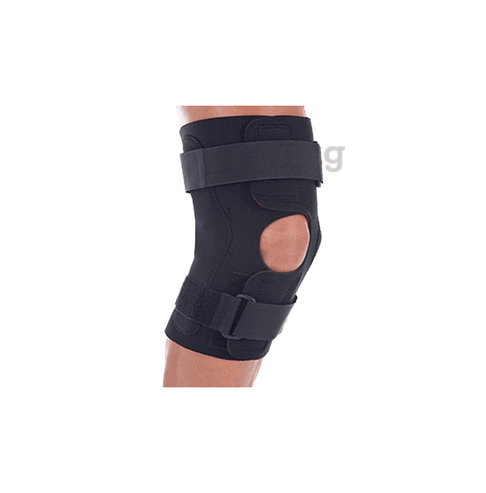United Ortho Wraparound Hinged Knee Brace Large