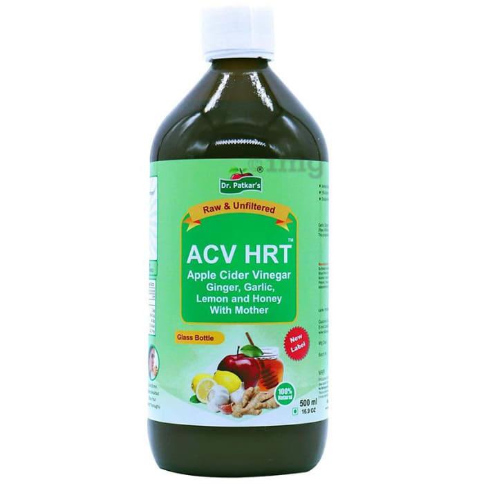 Dr. Patkar's Apple Cider Vinegar with Garlic, Ginger, Lemon and Honey