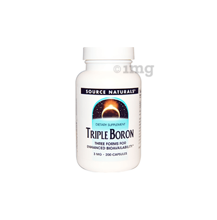 Source Naturals Triple Boron 3mg Capsule