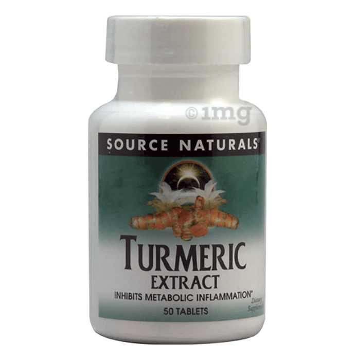 Source Naturals Turmeric Extract Tablet