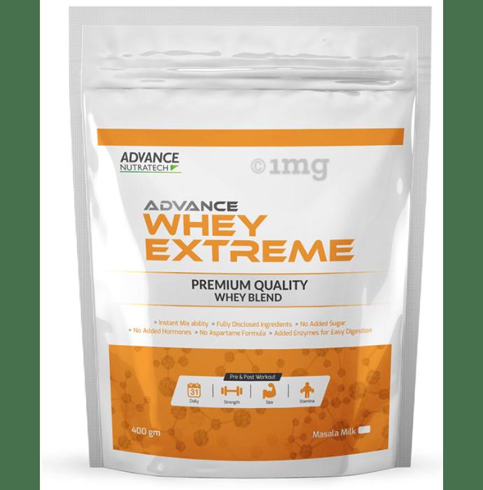 Advance Nutratech Whey Extreme Protein Powder Masala Milk