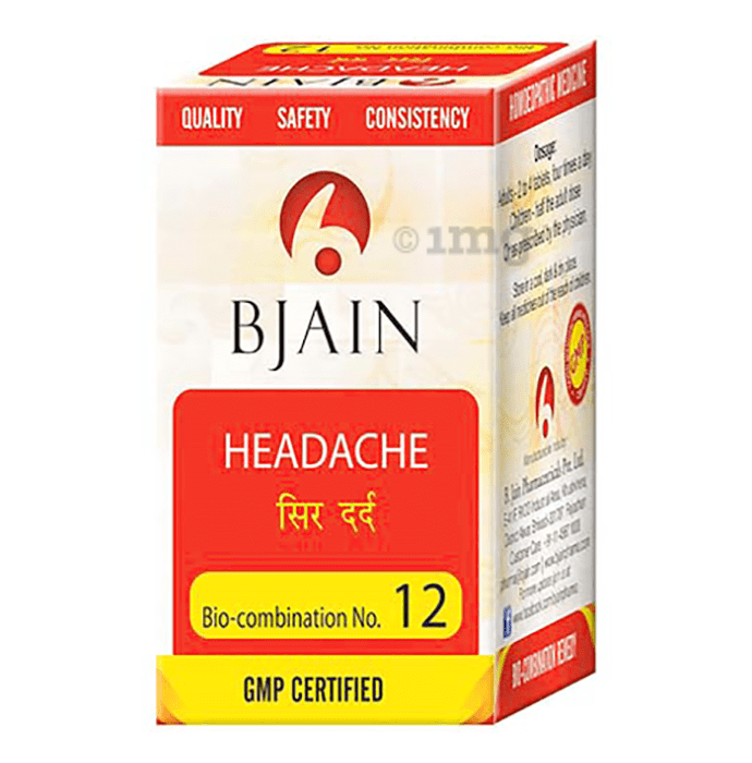 Bjain Bio-Combination No. 12 Tablet