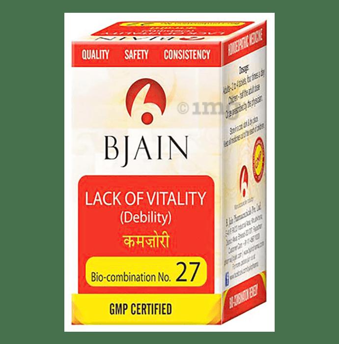 Bjain Bio-Combination No. 27 Tablet