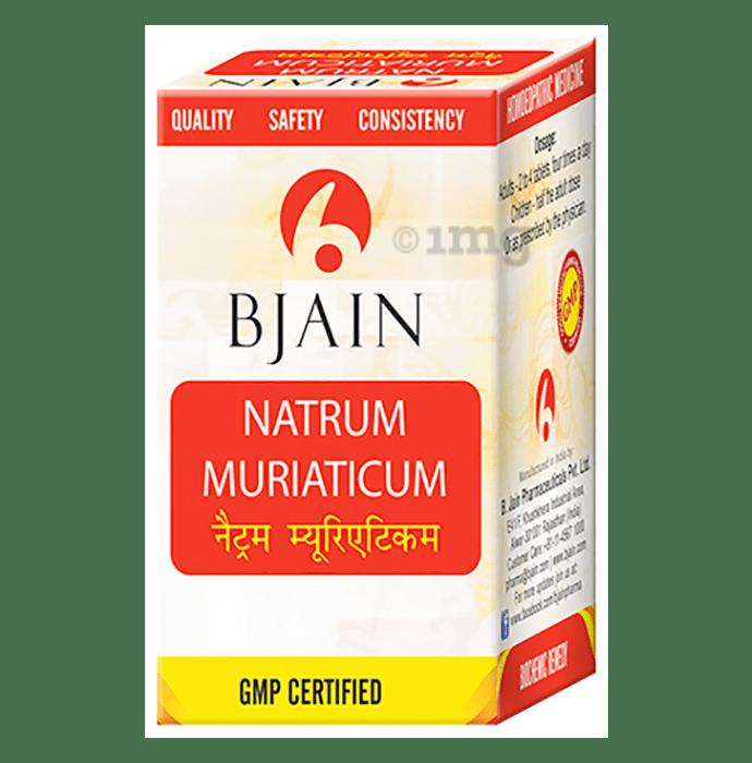 Bjain Natrum Muriaticum Biochemic Tablet 6X