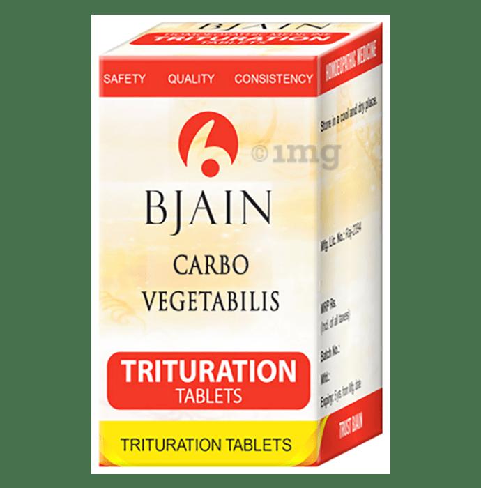 Bjain Carbo Vegetabilis Trituration Tablet 6X