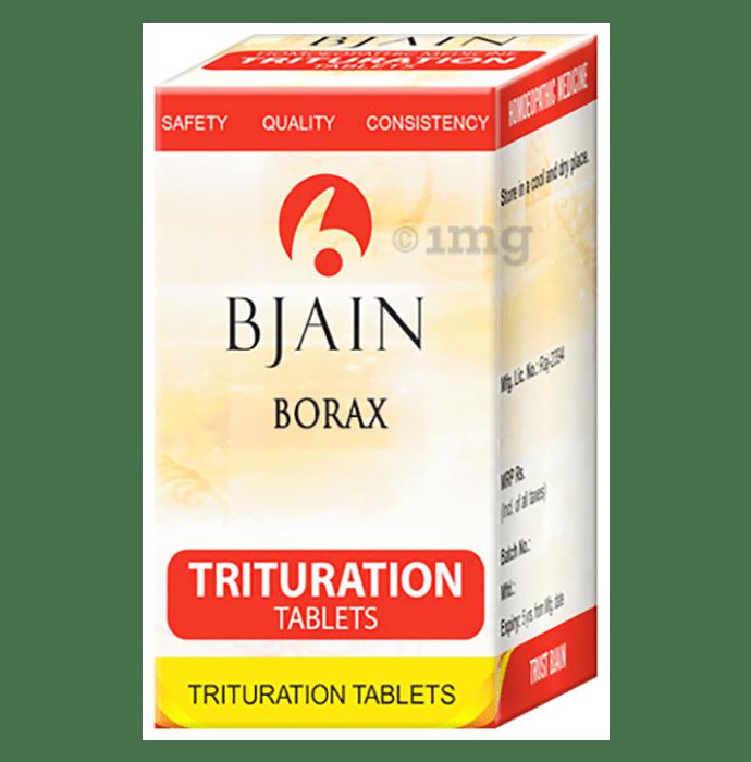 Bjain Borax Trituration Tablet 3X