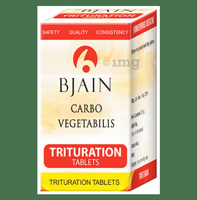 Bjain Carbo Vegetabilis Trituration Tablet 3X