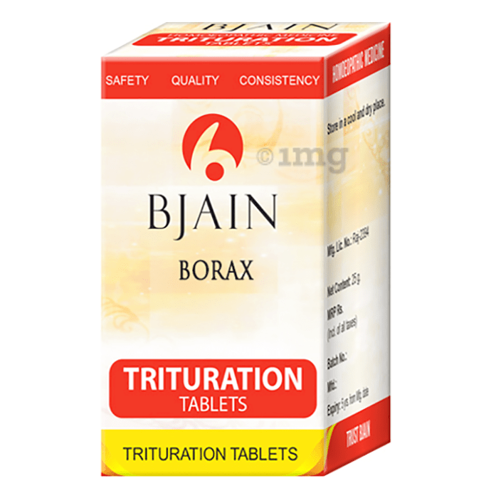 Bjain Borax Trituration Tablet 6X