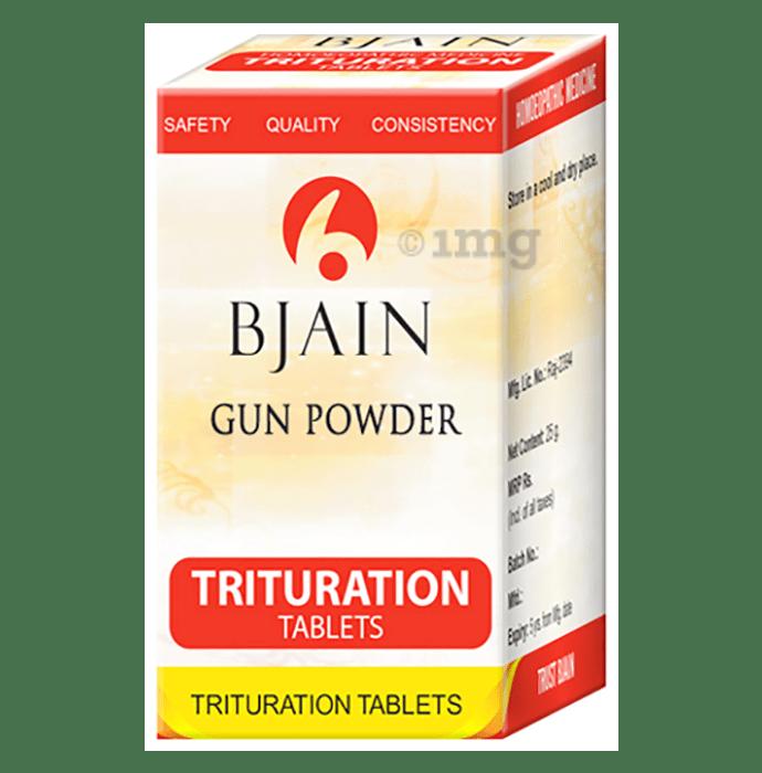 Bjain Gun Powder Trituration Tablet 6X