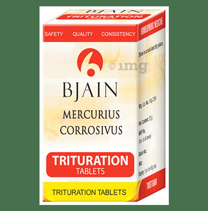 Bjain Mercurius Corrosivus Trituration Tablet 6X