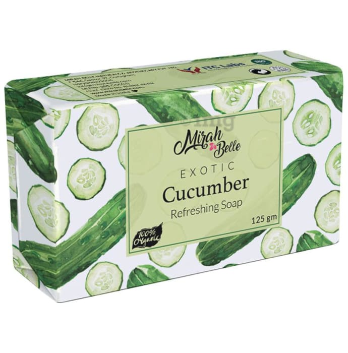Mirah Belle Exotic Cucumber Refreshing Soap