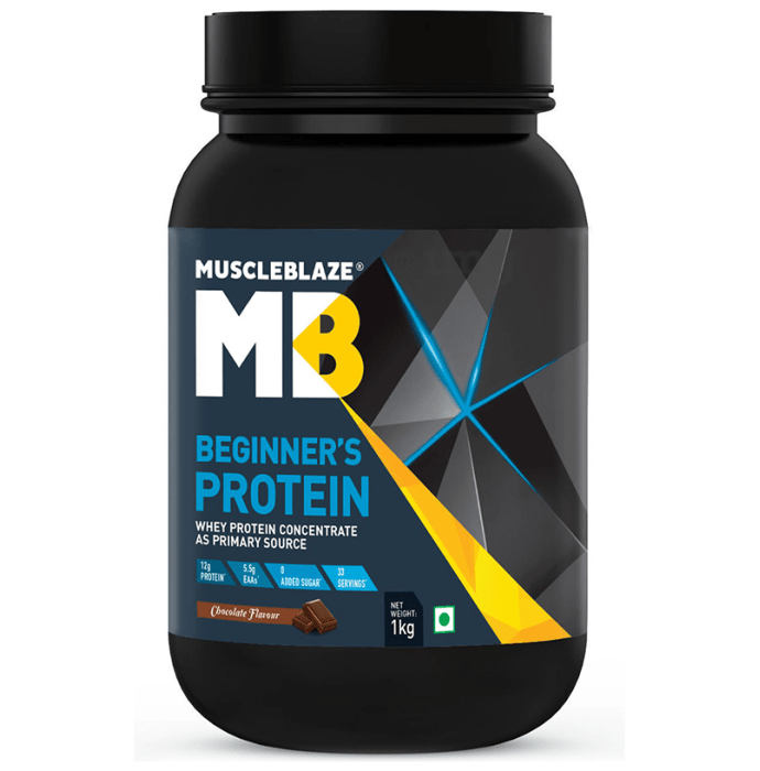 MuscleBlaze Beginner's Whey Protein Concentrate Chocolate