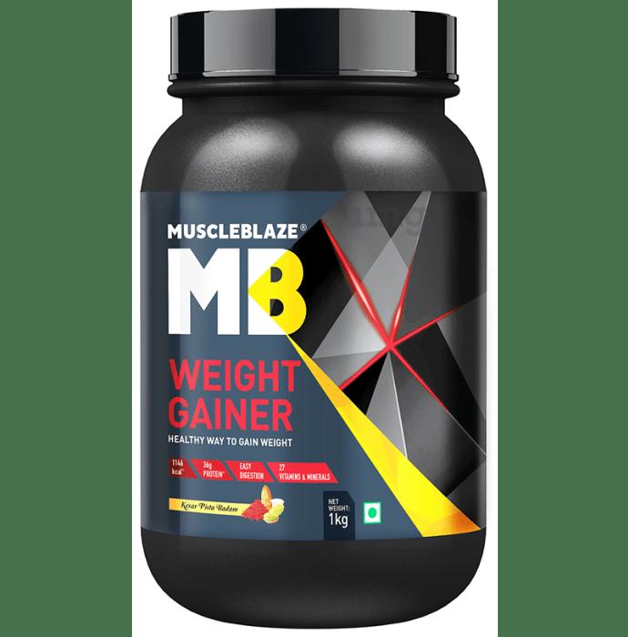 MuscleBlaze Weight Gainer Kesar Pista Badam