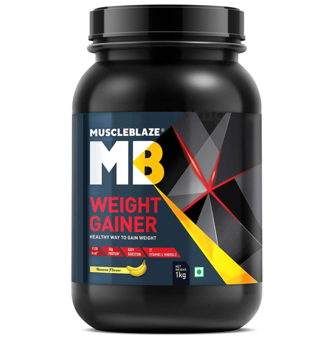 MuscleBlaze Weight Gainer Banana
