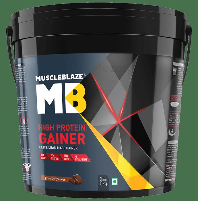 MuscleBlaze High Protein Lean Mass Gainer Chocolate