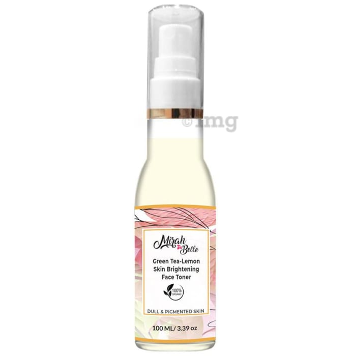 Mirah Belle Green Tea-Lemon Skin Brightening Face Toner