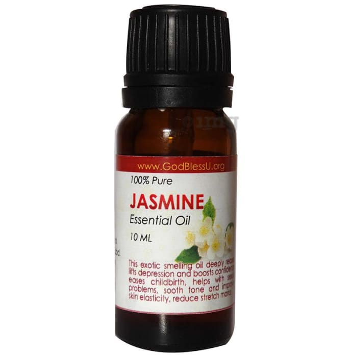 God Bless U Jasmine 100% Pure Essential Oil