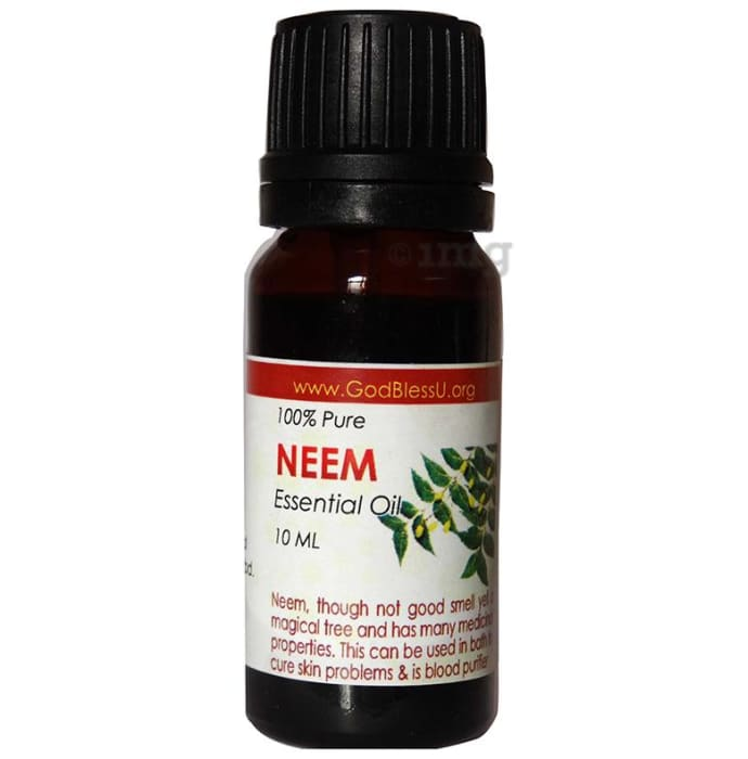 God Bless U Neem 100% Pure Essential Oil