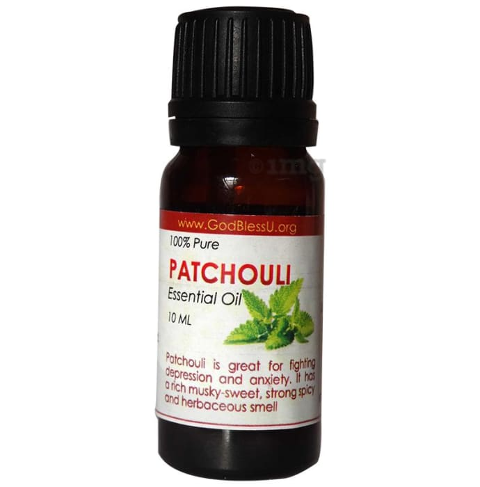 God Bless U Patchouli 100% Pure Essential Oil