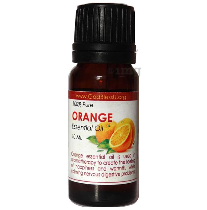 God Bless U Orange 100% Pure Essential Oil