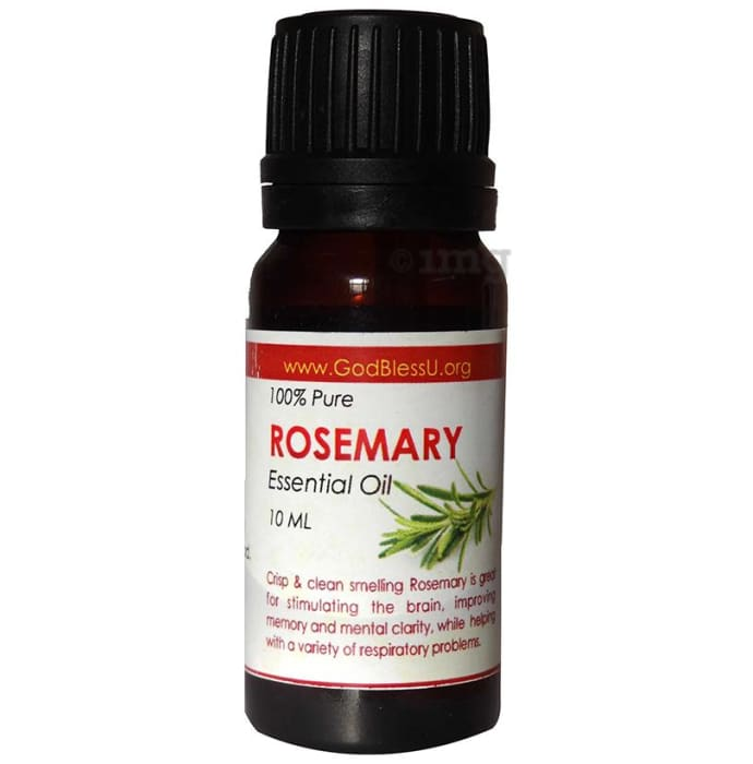 God Bless U Rosemary 100% Pure Essential Oil
