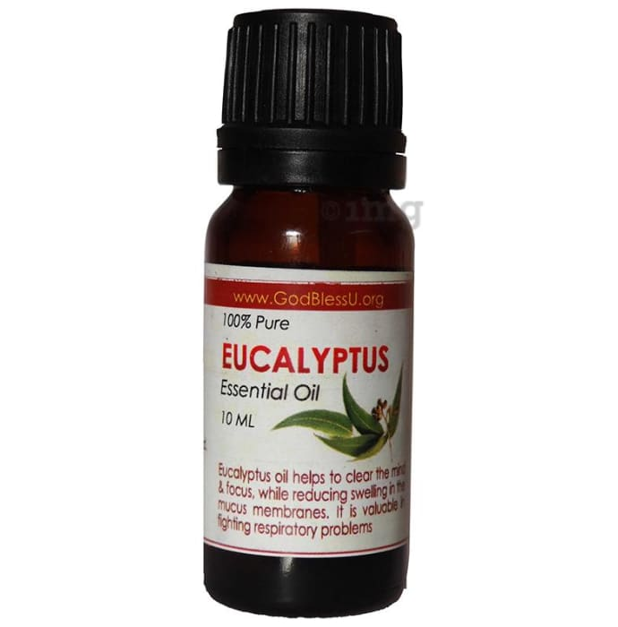 God Bless U Eucalyptus 100% Pure Essential Oil