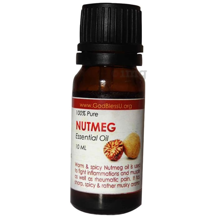 God Bless U Nutmeg 100% Pure Essential Oil