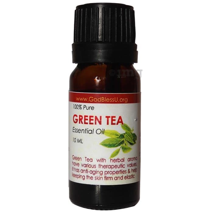 God Bless U Green Tea 100% Pure Essential Oil