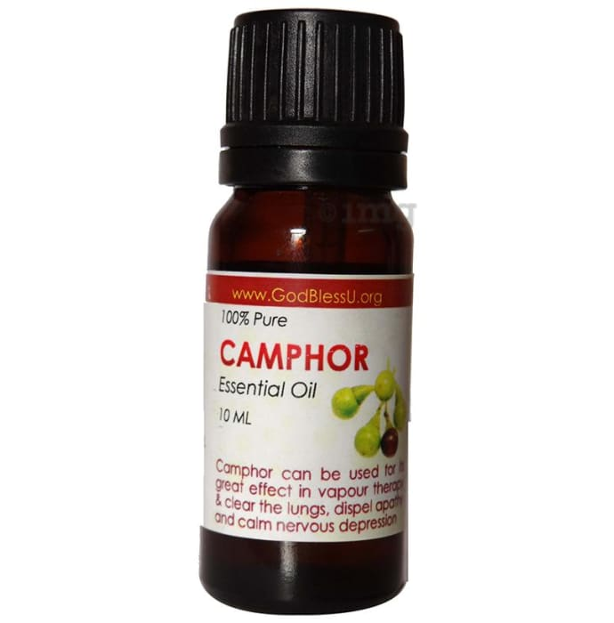 God Bless U Camphor 100% Pure Essential Oil