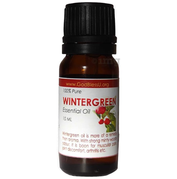 God Bless U Winter Green 100% Pure Essential Oil