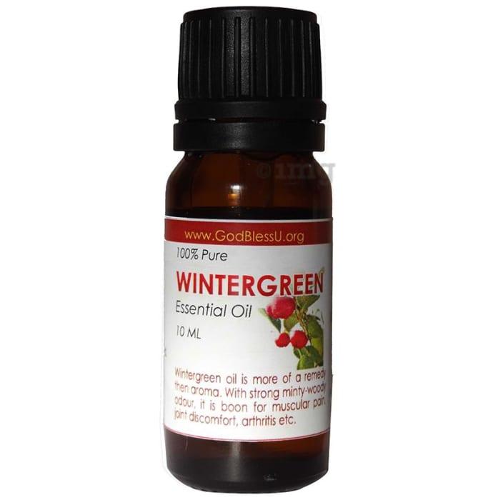 God Bless U Winter Green 100% Pure Essential Oil