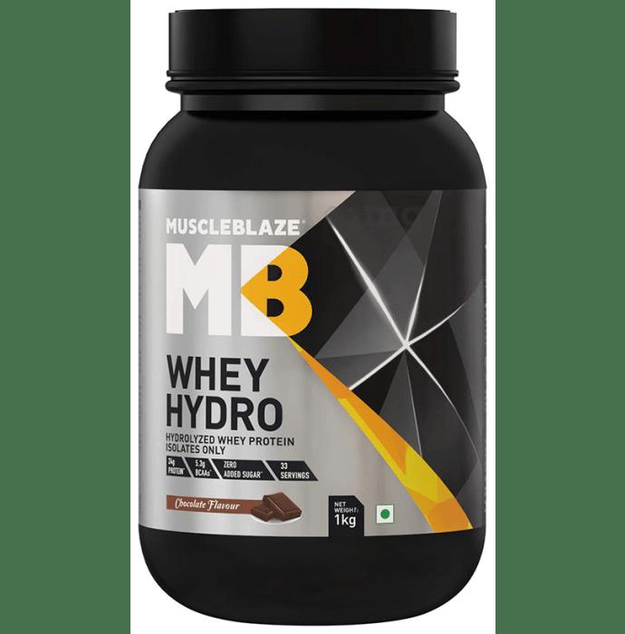 MuscleBlaze Whey Hydro, Hydrolysed Whey Protein Chocolate