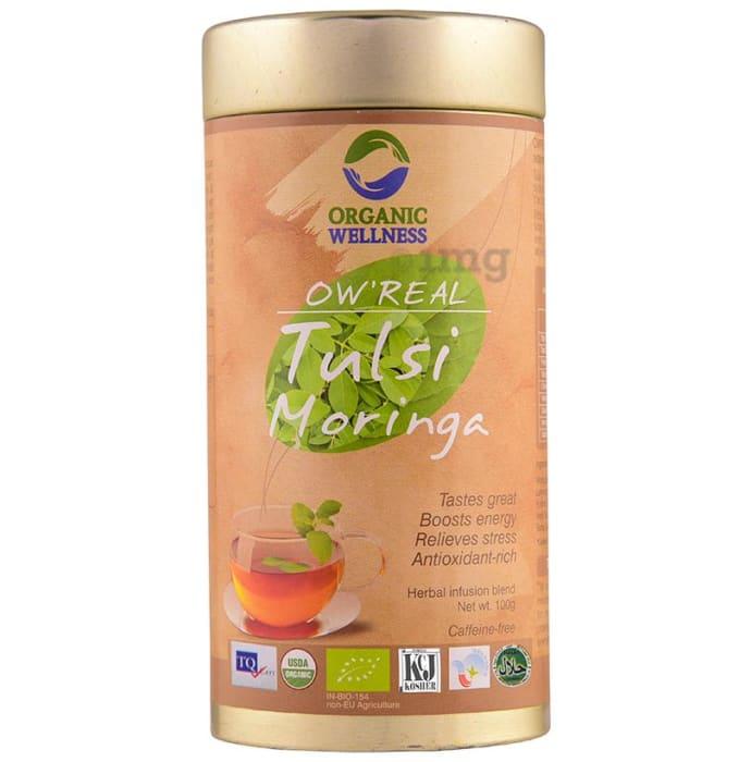 Organic Wellness OW' Real Tulsi Herbal Infusion Blend Moringa