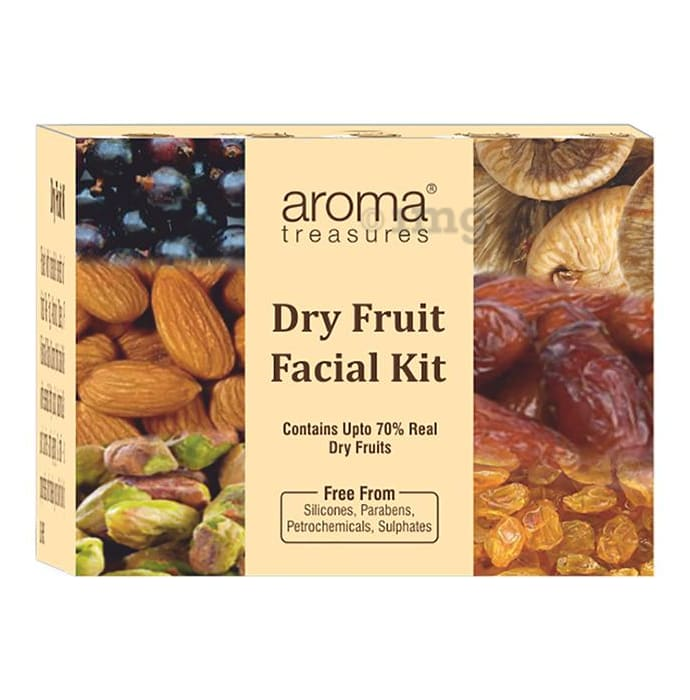 Aroma Treasures Dry Fruit Facial (One Time Use) Kit