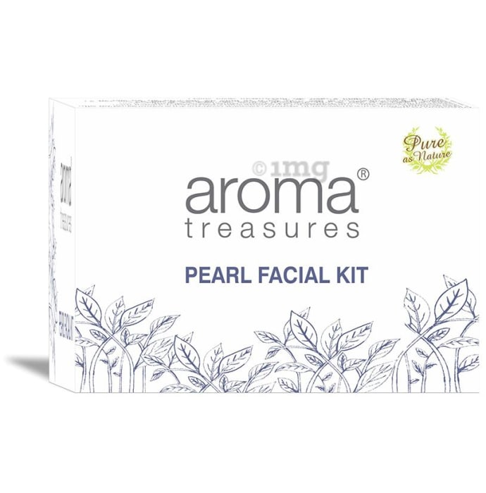 Aroma Treasures Pearl Facial Kit One Time Use