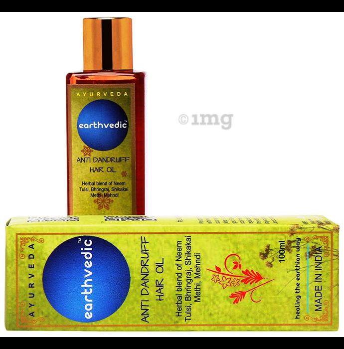 Earthvedic Anti Dandruff Hair Oil
