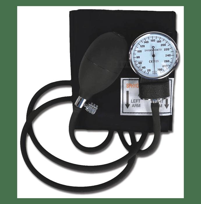 YBM BP01 Aneroid Sphygmomanometer Black