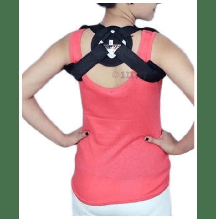 Dr. Expert Clavicle Brace (Velcro) Large Black