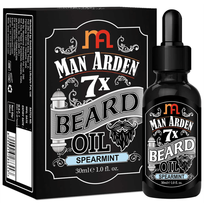 Man Arden 7X Beard Oil Spearmint