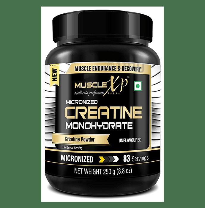 MuscleXP Micronized Creatine Monohydrate Powder Unflavoured