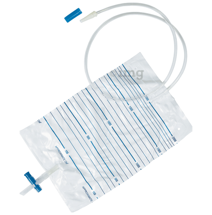 SURU 3015 Urine Collection Bag with Bottom Outlet