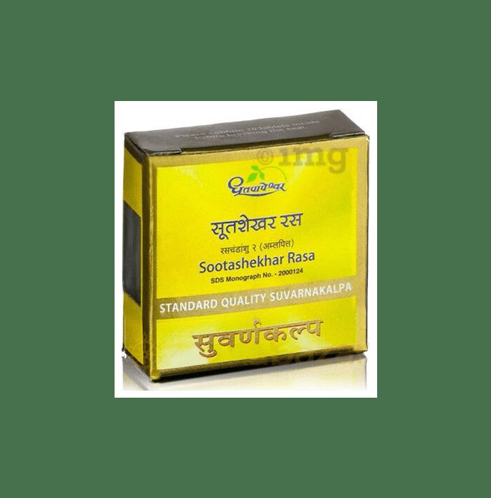 Dhootapapeshwar Sootashekhar Rasa Standard Quality Suvarnakalpa Tablet