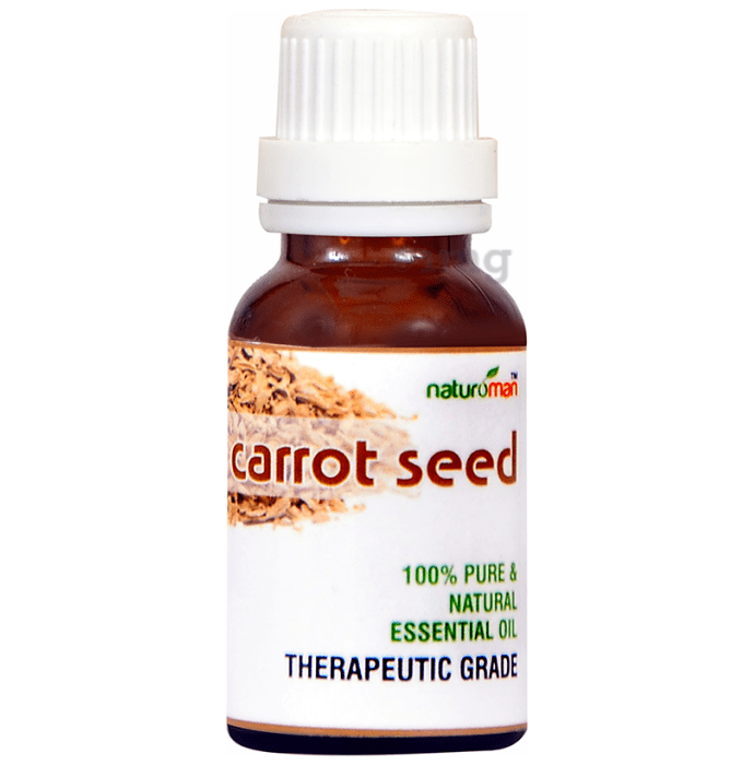 Naturoman Carrotseed Pure  and Natural Essential Oil