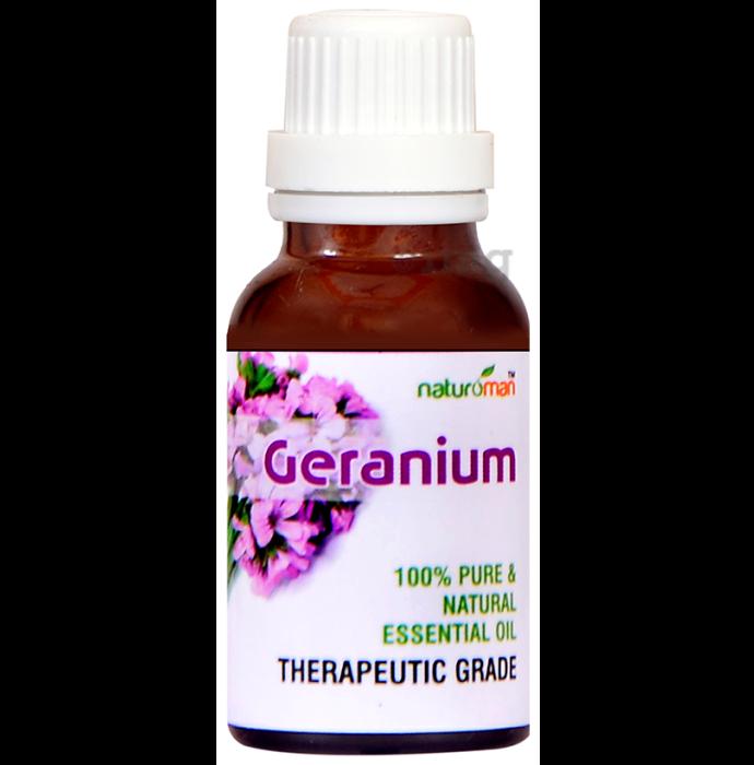 Naturoman Geranium Pure & Natural Essential Oil