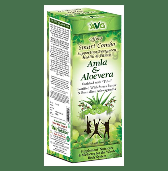 AVG Amla and Aloevera Mix Juice