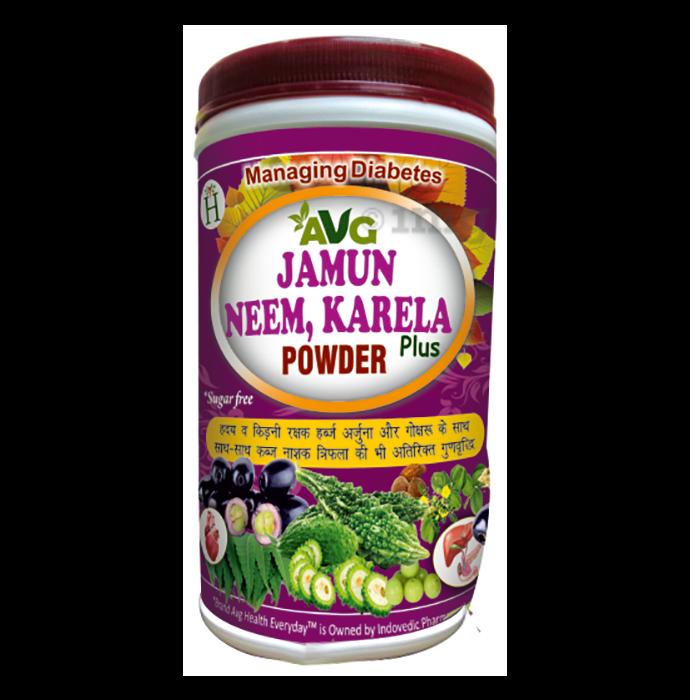 AVG Jamun, Neem and Karela Plus Powder