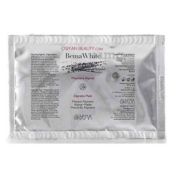 Bema White Alginates Mask (20gm Each)
