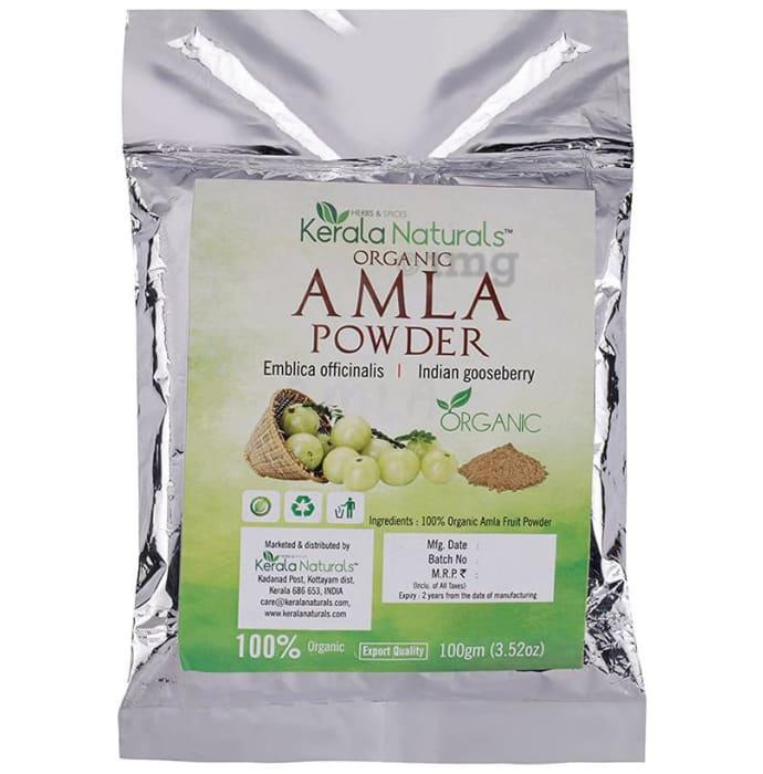Kerala Naturals Organic Amla Powder