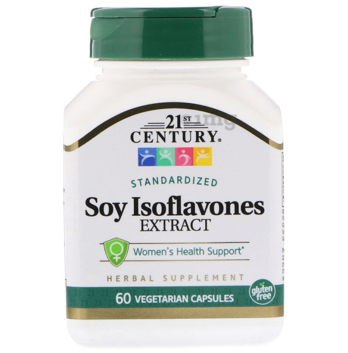 21st Century Soy Isoflavones Extract Vegetarian Capsules